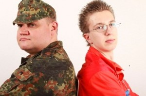 Soldat und Zievildiener