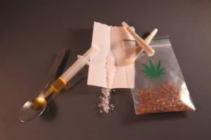 Bild mit Drogen