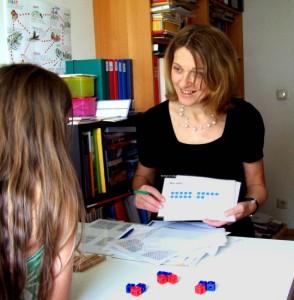 Therapiesitzung mit Gabriele Raffetseder-Amesberger