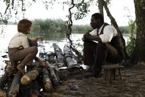 Huck Finn mit Freund