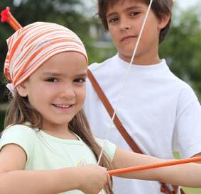Bogenschießen ist Freizeitspaß auch für die Jüngsten