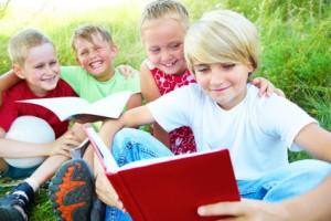 Zeit für Bücher - Lesen macht Spaß!