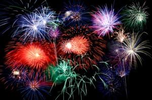 Feuerwerk gibt's zu Silvester nicht nur bei uns