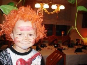Bild: geschminktes Kind