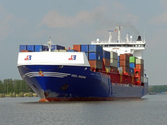 Bild: Containerschiff