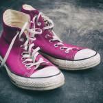 Basteltipp: Alte Schuhe aufpeppen