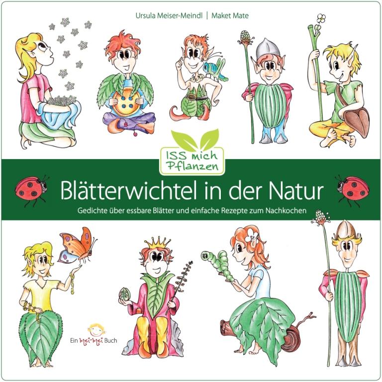 Buchcover: Blätterwichtel in der Natur