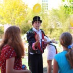 Spiel und Spaß beim Grünschnabel-Sommerfest
