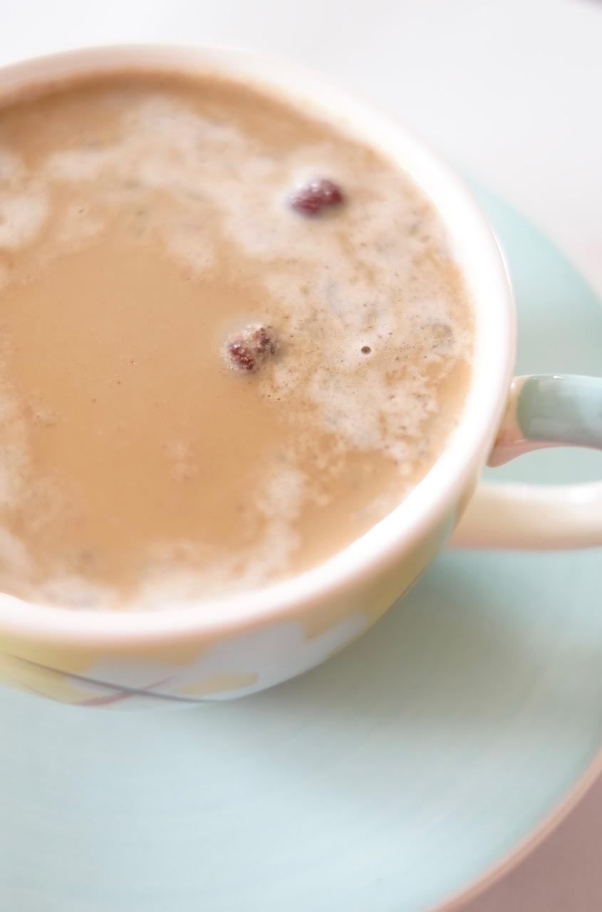 Haferflocken-Cappuccino