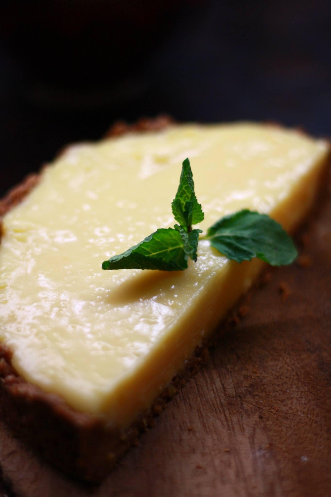 Zitronen-Olivenöl-Kuchen