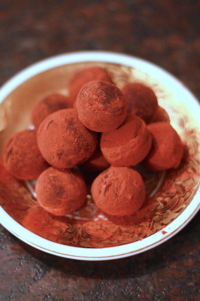 Kakaobutter-Trüffel