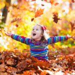 Naturspiele für den Herbst