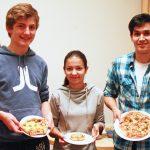 Kulinarischer Schmelztiegel im Studentenwohnheim