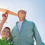 Opas Erfahrung gibt Kindern Vertrauen ins Leben