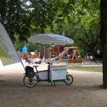 Grünschnabel-Spielplatzmobil im Einsatz!