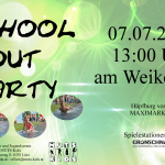 School-Out-Party am Weikerlsee