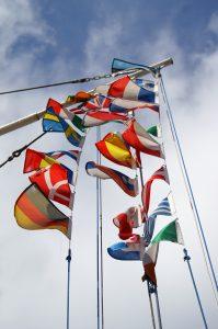 Nationen und Kulturen begegnen sich. (Foto: S. Hofschläger/pixelio.de)