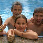 Wasserspiele für den Sommer