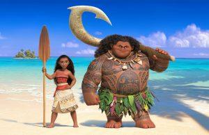 """Einen Ausflug in die Mythologie der Südsee machen wir am 21.10. im Familienkino beim Film """"Vaiana"""". Foto: Disney"""