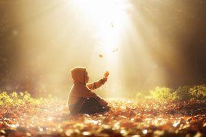 Positive Naturerfahrung macht Kinder seelisch ausgeglichener. Foto: Fotolia/imhof79ch