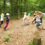 Waldkindergarten hat viele Gesichter