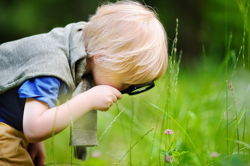 Tipps, wie man Naturerlebnisse in den Alltag der Kinder intergriert. Foto: Fotolia/Maria Sbytova