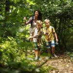 Wandern, so wie's der Familie gefällt